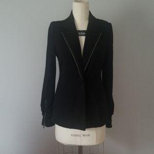 DKNY JEANS Black Jersey Blazer 8P